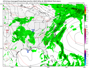 gfs90 Holiday Weekend Weather Underway