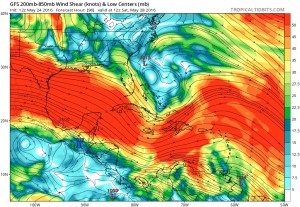 gfs_shear_watl_17 Hurricane Season Starting Early