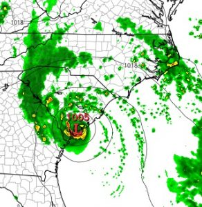 hrrr TROPICAL STORM BONNIE FORMS