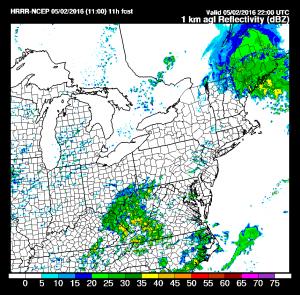 hrrradar1 Severe Weather Risk Southern New Jersey