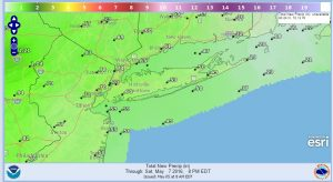 precip Coastal Flooding Long Island New Jersey