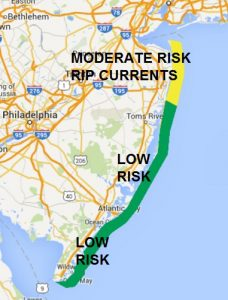 ripcurrent NEW JERSEY SHORE BEACH FORECAST