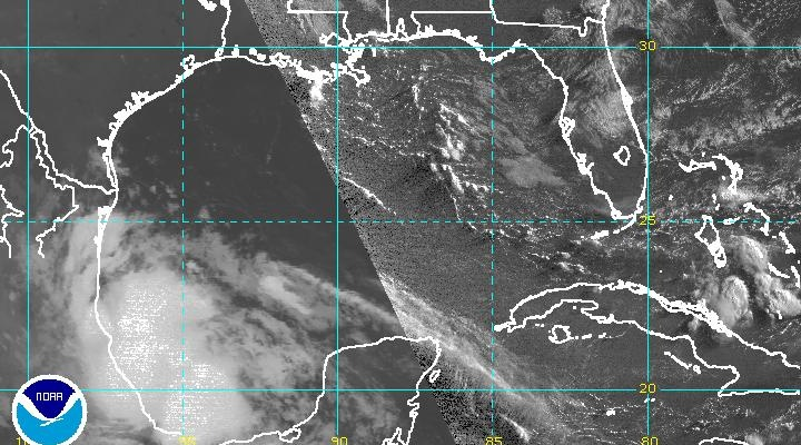 tropical storm danielle