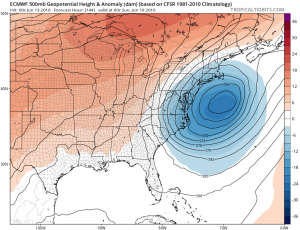 euro144 Fathers Day Weather Outlook