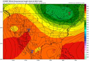 euro96 Tropical Storm Possible Gulf