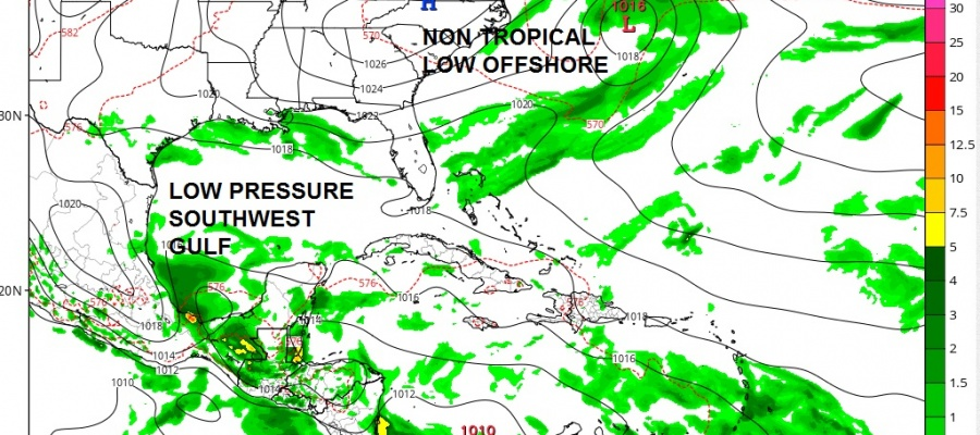 Tropical Cyclone Formation Not Likely