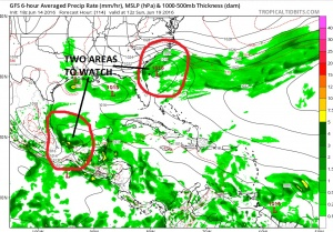 gfs114 Tropical Cyclone Potential Next 7 Days