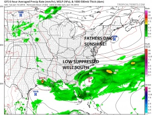 gfs132 Fathers Day Weather Outlook