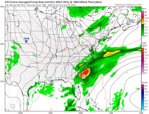 gfs30 Tropical Storm Warnings Florida Coasts