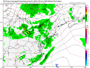 gfs60 Belmont stakes Great Weather Continues Slight Risk Saturday