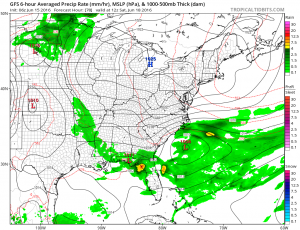 gfs84 Beautiful Wednesday Underway