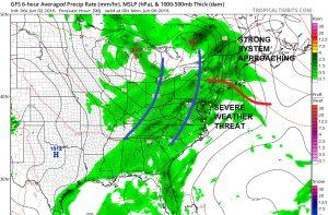 gfs90 Weather Threats