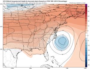 Coastal Storm Early Next Week?