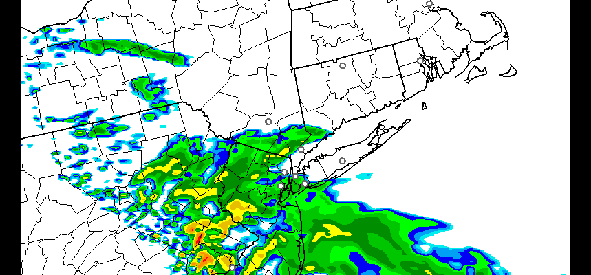 Showers Early Thursday