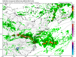 nam15 Severe Weather Threat Thursday June 23