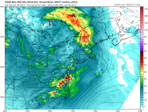 nam42 Severe Weather Threat Sunday