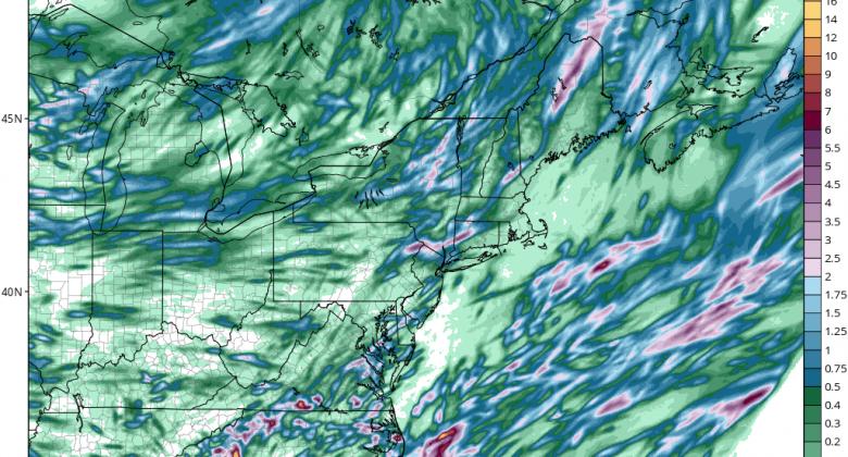 Heavy Rain Possibility For Friday