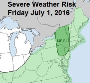 Severe Weather Threat Friday