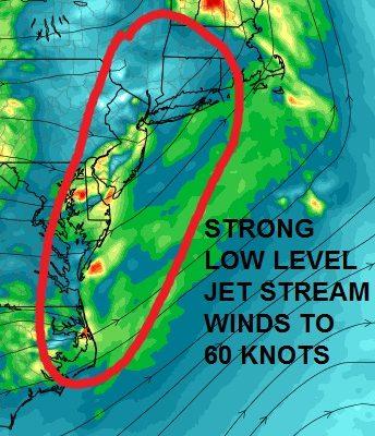Severe Weather Risk Expanded Northward