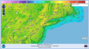 sunday Showers Exit Partly Sunny Afternoon