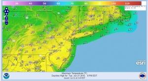 tuesday Hot Tuesday Rain Threat Thursday