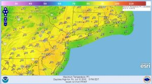 friday Severe Weather Ends Hot Friday