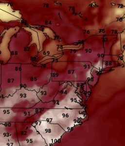 gfs120 JOESTRADAMUS HOT HUMID WEATHER