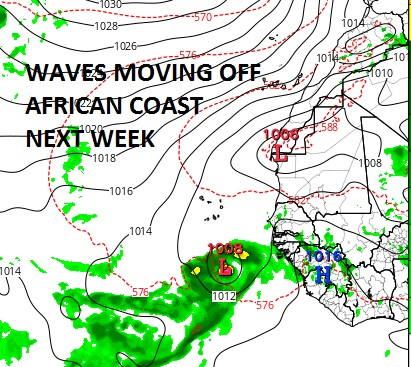 Tropical Activity Forecast To Increase Soon