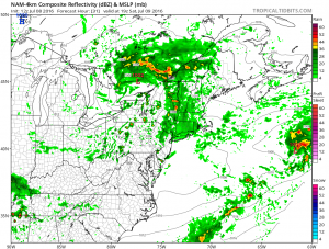 Showers Thunderstorms Possible Into Saturday Night