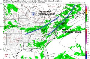 gfs72 Weekend Weather Forecast