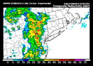 hrrr11 Heatwave Thunderstorms
