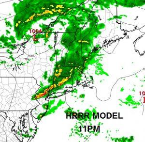 hrrr11 Severe Weather Threat Raised