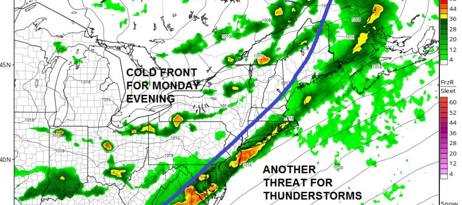 Good Looking Sunday Pop Up Storms