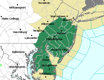 FLASH FLOOD WATCH NEW JERSEY
