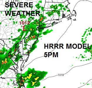 Severe Thunderstorm Warnings New Jersey
