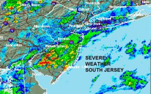 radar Severe Weather Continues In South Jersey