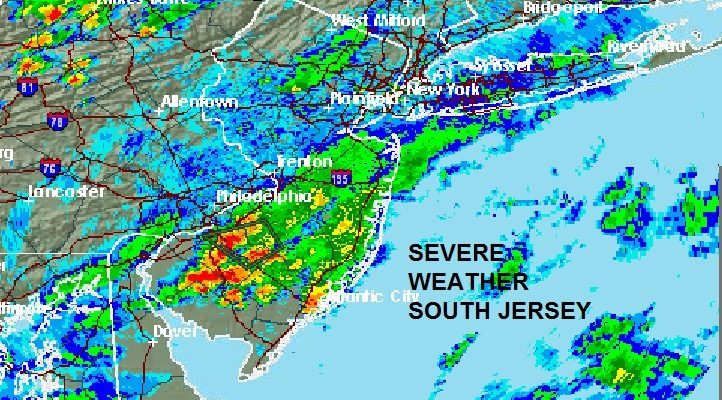 Severe Weather Continue In South Jersey