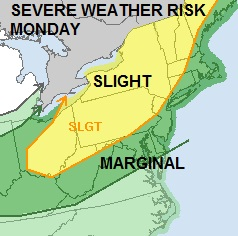 SEVERE WEATHER THREAT LATE MONDAY