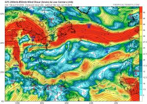 shear Atlantic Hurricane Season Western Atlantic Satellte Loop