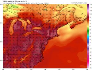 gfs102 week ahead forecast