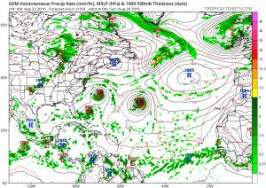gfs150 TROPICAL STORMS