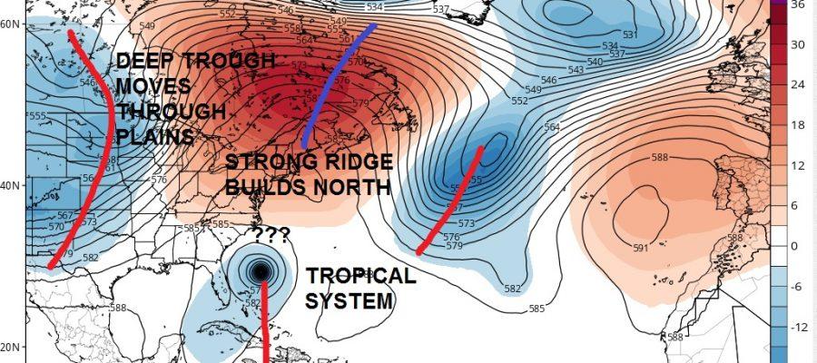 gfs model tropical storm