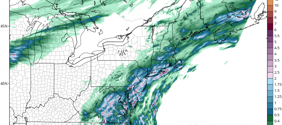 hrrr rainfall moving in