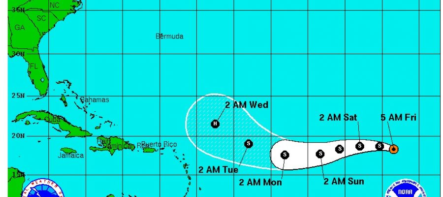 tropical storm karl