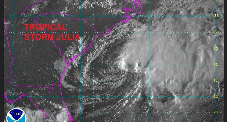 tropical storm julia