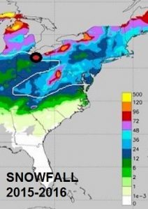 snowfall2015-2016 Winter 2016-2017