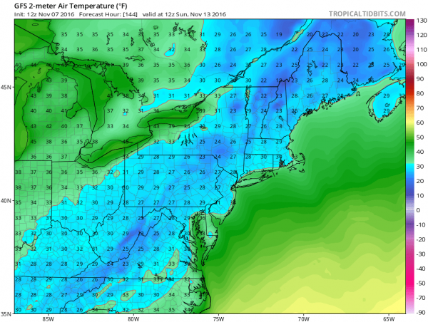 gfs144 election day weather
