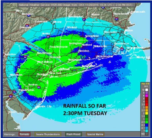 heavy rains moving