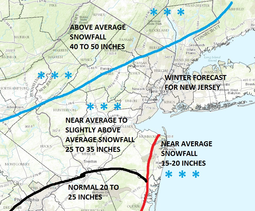 WINTER 2016-2017 NEW JERSEY FORECAST - Weather Updates 24/7 by ...