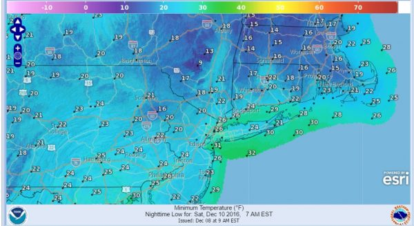 colder air moving